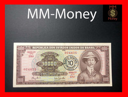 BRAZIL 10 Cruzeiros Novos 1967 P. 190 A  Xf   [MM-Money] - Brasil