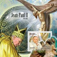 Guinea 2012 - Pope John Paul II (1920-2005). Y&T 1398, Mi 9271/Bl.2106 - República De Guinea (1958-...)
