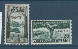 ITALIE NEUF AMG-FTT 2 TIMBRES (29) - Zonder Classificatie