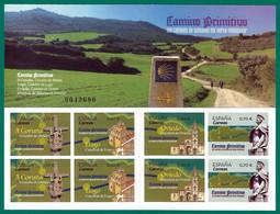 España. Spain. 2019. Los Caminos De Santiago Del Norte Peninsular. Camino Primitivo - 2011-... Ungebraucht