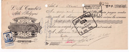 DDX778 -- ATH -  Lettre De Change TP Pellens 1914 - Meubles Et Sièges Cambier , Sièges En Bois Courbé - 700 Ouvriers - 1912 Pellens