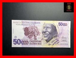 BRAZIL 50.000 50000 Cruzeiros Reais  1993 P. 242  Spots  *RARE*   UNC   [MM-Money] - Brasil