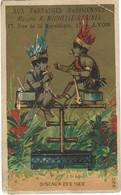 CHROMO AUX FANTAISIES PARISIENNES - LYON 1890 - Ohne Zuordnung
