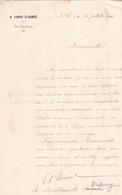 TRES BEAU DOCUMENT DE LA MAIN DU GENERAL NIESSEL GENERAL DU 9 EME CORPS D ARMEE 1917 - Documenten