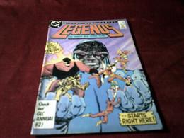 LEGENDS   N° 1 NOV 1986 - DC