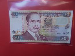 KENYA 50 SHILINGI 1999 Circuler (B.20) - Kenia