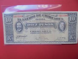 MEXICO (Chihuahua) 10 PESOS 1915 Circuler (B.20) - Mexiko
