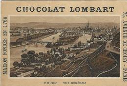 CHROMO CHOCOLAT LOMBART 1900 ROUEN - Lombart