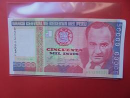 PEROU 50.000 INTIS 1988 Circuler (B.20) - Perú