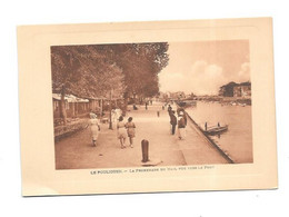 Photo LE POULIGUEN, Promenade Du Mail Vers Le Port - Fotos