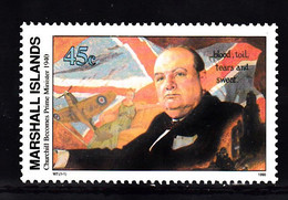 Marshalleilanden 1990 Mi Nr 302 Winston Churchill - Marshallinseln