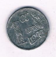 1 CENT 1944  NEDERLAND /7607/ - [ 3] 1815-…: Königreich Der Niederlande