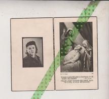 Lea Clementina Lenie, Rossem (Wolvertem) 1926, Brussel 1944 - Obituary Notices