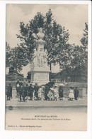 Carte De MONTCEAU LES MINES Monument élevé à La Mémoire Des Victimes De La Mine ( Recto Verso ) - Montceau Les Mines