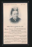 MADAME MELANIE HUYS   GAND 1906  74 JAAR OUD - Obituary Notices