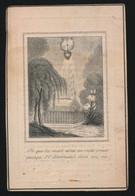 MARIA GOBBENS   MECHELEN 1819    1848    2 SCANS - Obituary Notices