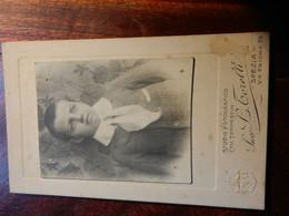 13.1.2) FOTOGRAFO CAV. TEMPESTINI SUCC. TORELLI LA SPEZIA VIA PRIONE - Old (before 1900)