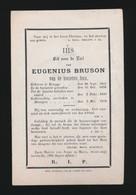 PATER EUGENIUS BRUSON  BRUGGE 1815   DRONGEN 1878 - Obituary Notices