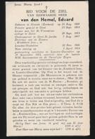 DIRECTEUR ZUSTERS KINDSHEID LOURDES - Van Den HEMEL - GROEDE 1869  LOURDES OOSTAKKER 1953 - Obituary Notices