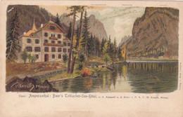 892/ Tirol, Ampezzothal, Baur's Toblacher-See-Hotel, Reisch Meran, Klausbrückenkofel - Andere