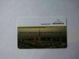 Saudi Arabia Hotel Key, Madinah Mövenpick Hotel , Madinah (1pcs) - Hotelkarten