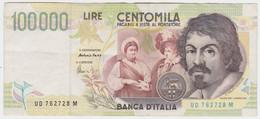Italy P 117 B - 100.000 Lire 6.5.1994 - VF - [ 2] 1946-… : República