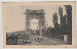 DEPT 86 : édit. ? : Lesigny Entrée Du Pont Route De Barrou - Other Municipalities