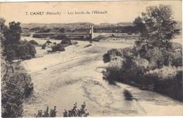 34-CANET-7-LES BORDS DE L'HERAULT. - Unclassified