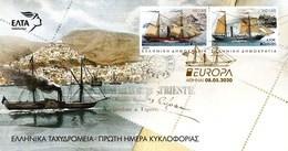 Greece 2020 Europa Cept Ancient Postal Routes FDC - Grecia