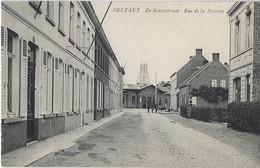 Selzaet    -   De Statiestraat.   -   (Licht Kreukje)  Station   Selzaete - Zelzate