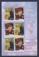 Papua New Guinea 2007 QE II Diamond Wedding Anniversary Sheetlet MNH - Papua New Guinea