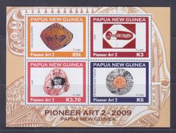Papua New Guinea 2009 Pioneer Art 2 Sheetlet MNH - Papua-Neuguinea