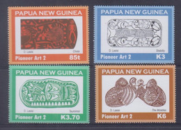 Papua New Guinea 2009 Pioneer Art 2 Stamps MNH - Papua-Neuguinea
