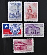 CONGRES UNION POSTALE AMERIQUES/ESPAGNE 1971 - NEUFS ** - YT 369/73 - MI 760/64 - Chile
