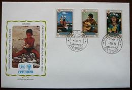 International Year Of The Child    Aitutaki    FDC    Mi  310-12    Yv  236-38        1979 - Aitutaki