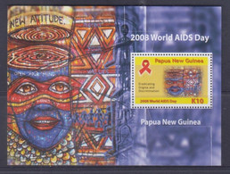 Papua New Guinea 2008 World AIDS Day S/S MNH - Papua-Neuguinea