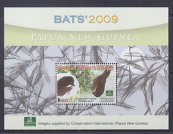 Papua New Guinea 2009 Bats S/S MNH - Papua-Neuguinea