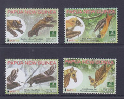 Papua New Guinea 2009 Bats Stamps MNH - Papua-Neuguinea