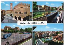 Saluti Da TREVISO - Piazza Dei Signori - Riviera S: Margherita - Piazzale Duca D'Aosta - Panorama - Ponte S.... - Vedute - Treviso