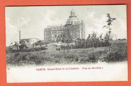 217 P - Namur - N°27 Grand Hôtel De La Citadelle Vue De Derrière 1902 - Circulée Vers Denderleeuw Lez Alost - Aalst - Namur