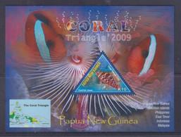 Papua New Guinea 2009 Coral Triangle S/S MNH - Papua-Neuguinea
