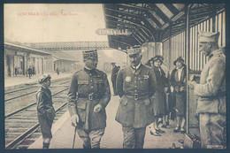 54 LUNEVILLE La Gare Les Quais Militaire Généraux - Luneville