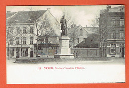 217 P - Namur - N°24 Statue D'Omalius D'Halloy 1902 - Circulée Vers Denderleeuw Lez Alost - Aalst - Namur