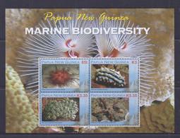 Papua New Guinea 2009 Marine Biodiversity Sheetlet MNH - Papua New Guinea
