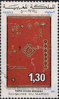 Maroc Poste Obl Yv: 920 Mi:995 Tapis Ouled Besseba (cachet Rond) - Maroc (1956-...)