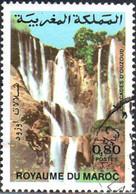 Maroc Poste Obl Yv: 956 Mi:1036 Cascades D'Ouzoud (Beau Cachet Rond) - Maroc (1956-...)