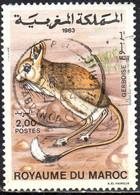 Maroc Poste Obl Yv: 963 Mi:1043 Gerboise (TB Cachet Rond) - Maroc (1956-...)