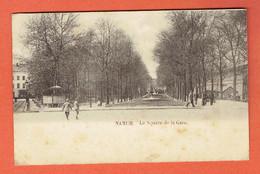 217 P - Namur - Le Square De La Gare En 1902 - Circulée Vers Denderleeuw Lez Alost - Aalst - Namur