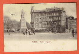 217 P - Namur - Statue De Léopold I En 1902 - Circulée Vers Denderleeuw Lez Alost - Aalst - Namur