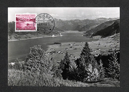 SUISSE - HELVETIA - Carte Maximum 1953 - Einsiedeln - Gross Am Sihlsee - Cartoline Maximum